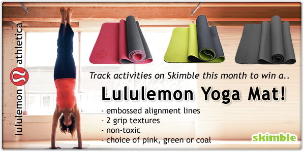 Namaste Be Active In May And Win A Lululemon Yoga Mat