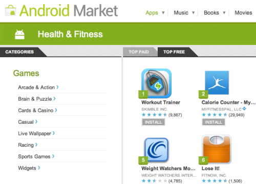 Skimble-workout-trainer-top-1-free-health-fitness-android-market
