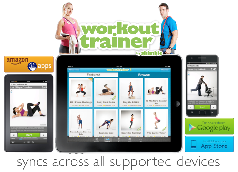 Workout trainer app skimble review