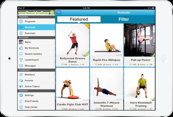 skimble-workout-trainer-side-menu