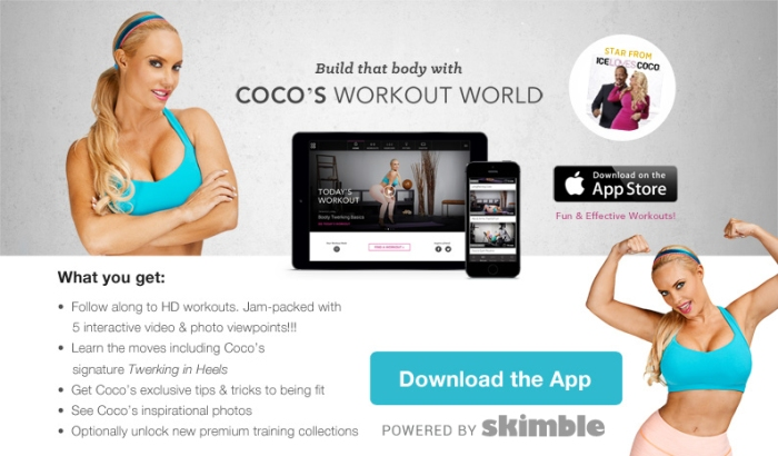 Coco's Workout World by Skimble - Download on the App Store