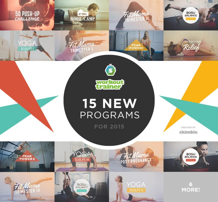 Workout Trainer | 2015 Featured Programs