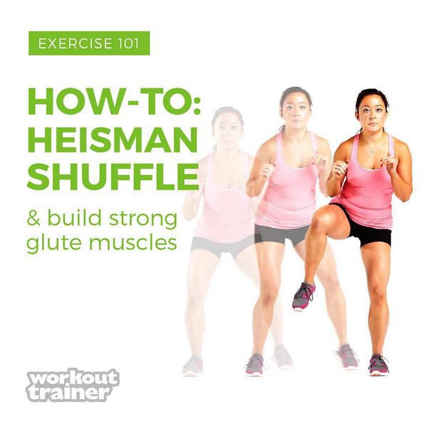 Exercise How-To: Heisman Shuffle