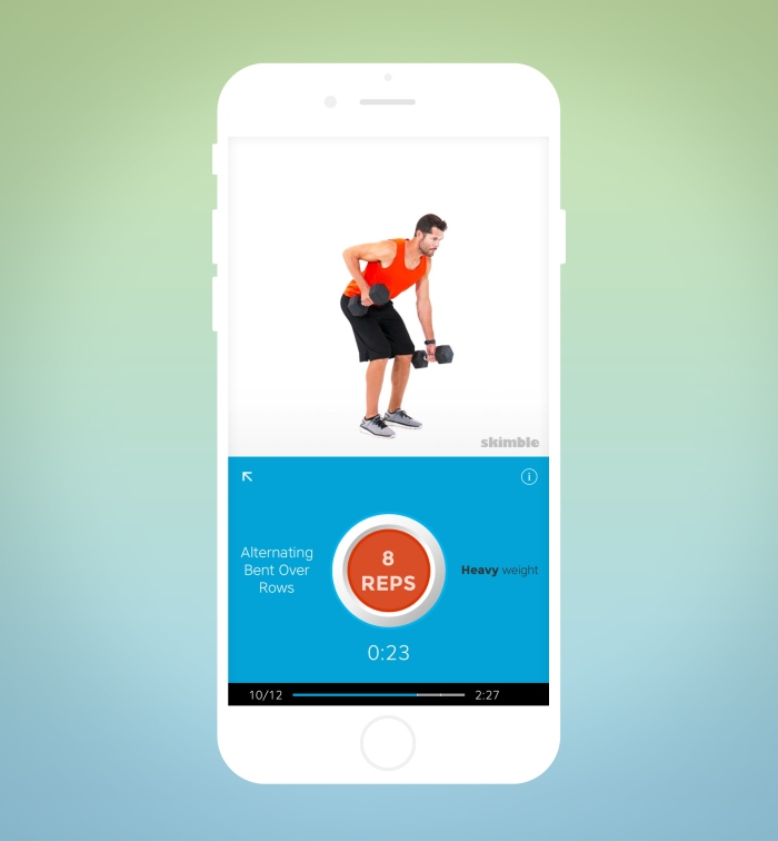 Workout Trainer app: new dynamic workout playback