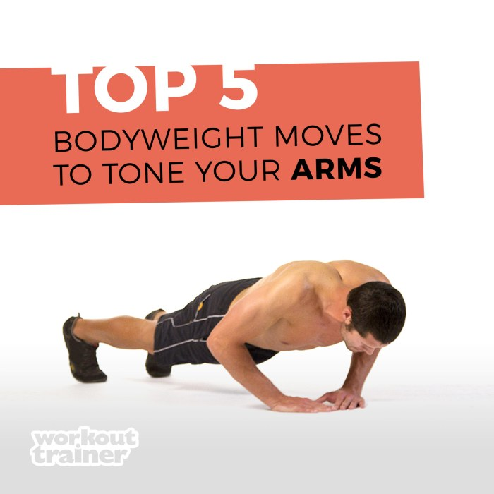 Skimble's Top 5 Bodyweight Moves to Tone Your Arms