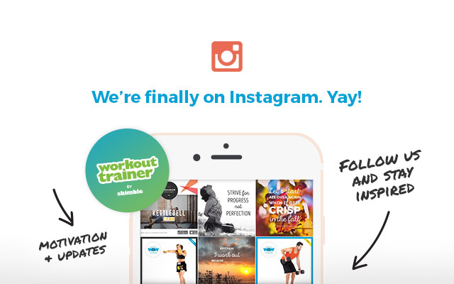 Follow Skimble on Instagram