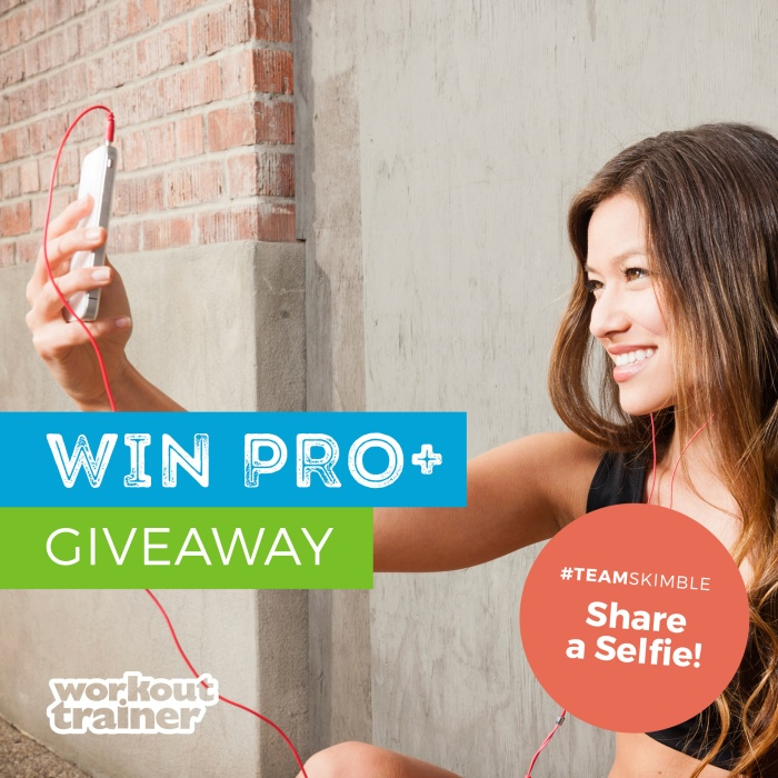 Workout Trainer PRO+ Giveaway on Instagram