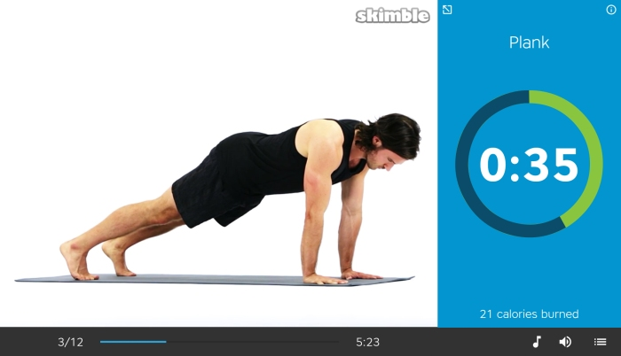 Skimble-Workout-Trainer-Android-Tablet-7-Exercise-Full-Plank