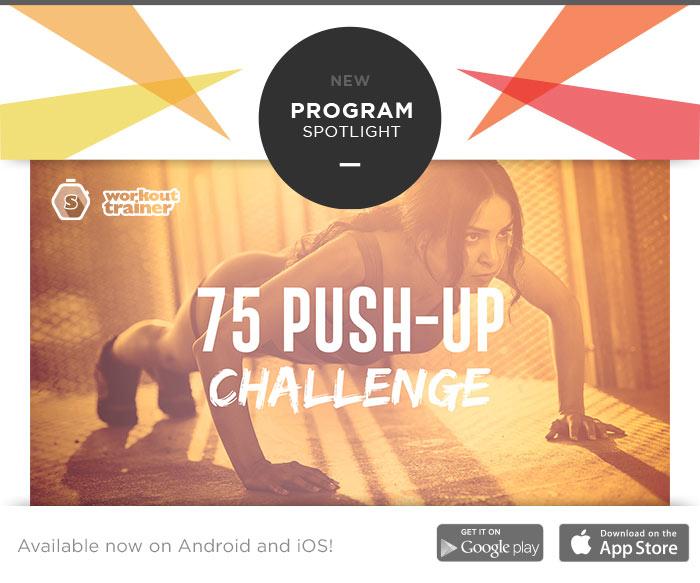 Skimble's Program Spotlight: 75 Push-Up Challenge
