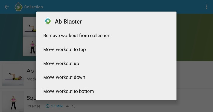 Skimble-Workout-Trainer-Edit-Collections