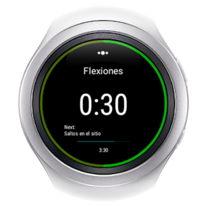 Skimble's Workout Trainer: Android Watch Samsung Gear S2