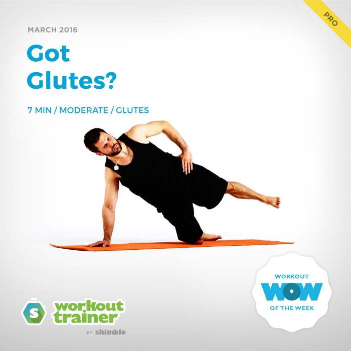Skimble's Pro Workout of the Week: Got Glutes?