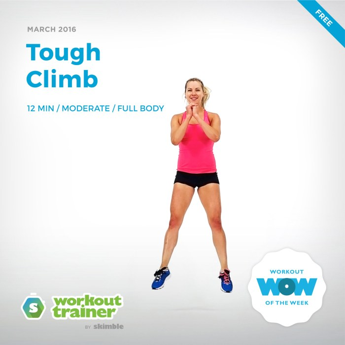 Skimble's Workout of the Week: Tough Climb
