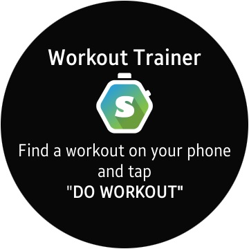 Skimble's Workout Trainer app for Android watches