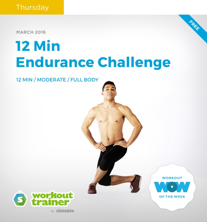 Skimble's Workout Trainer: Total Body Challenge
