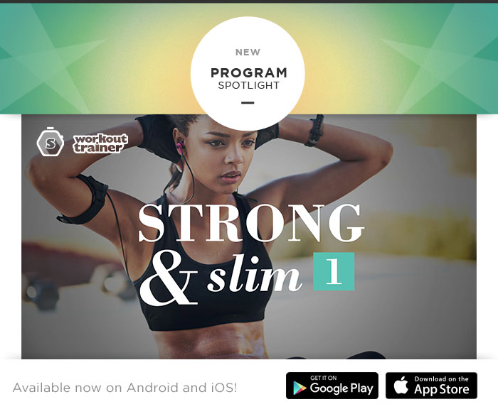 Skimble's Workout Trainer: Program Spotlight: Strong & Slim