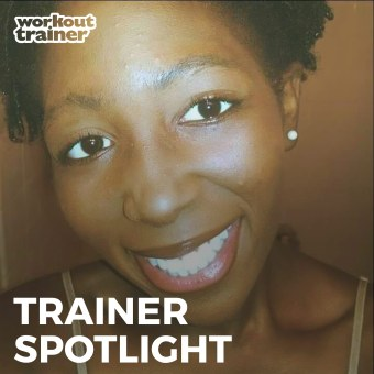 Skimble Trainer Spotlight: Tenisha in Workout Trainer