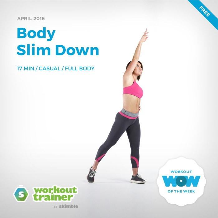 Skimble's Workout of the Week: Body Slim Down