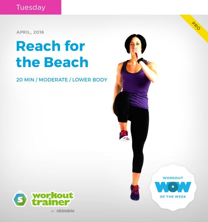 Skimble's Workout Trainer: Mini Series: Beach Fit