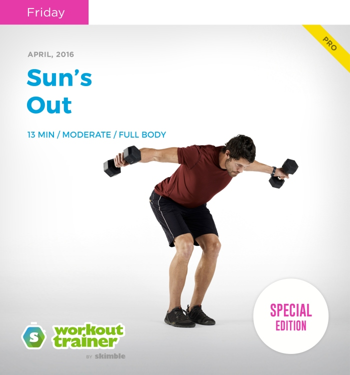Skimble's Workout Trainer: Mini Series: Sun's Out