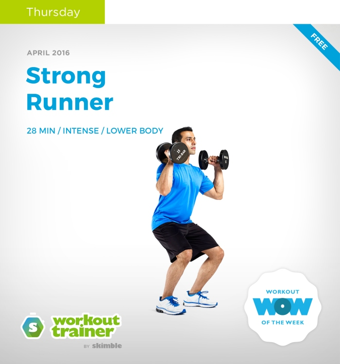 Skimble's Workout Trainer: Mini Series: Strong Runner