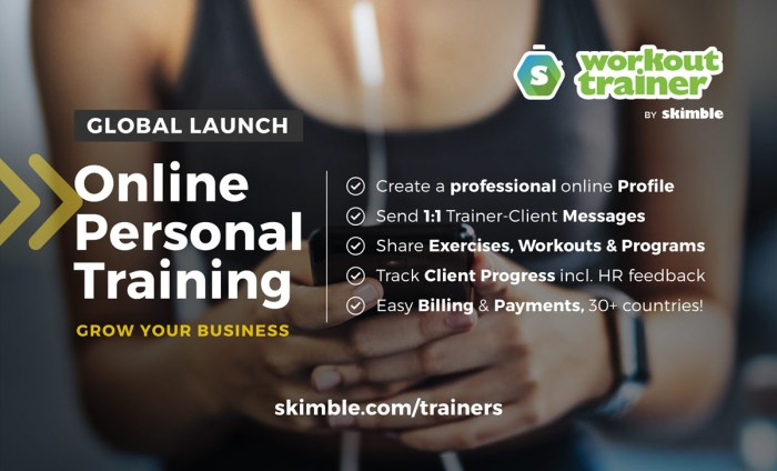 Workout Trainer by Skimble: How to Get started with Online Personal Training