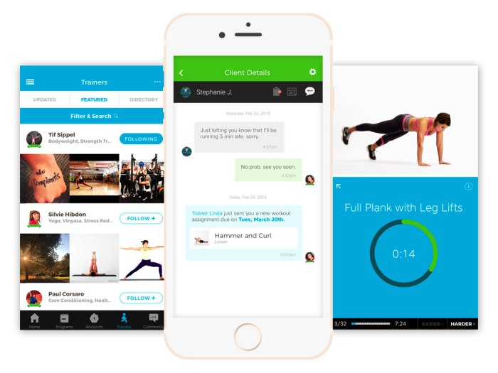 Skimble's Personal Trainer Tools - app screemshots
