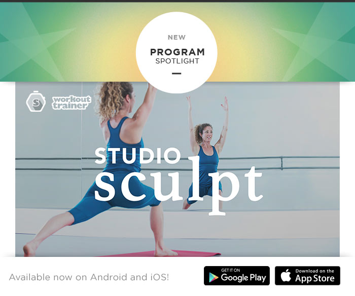 Skimble's Program Spotlight: Studio Sculpt