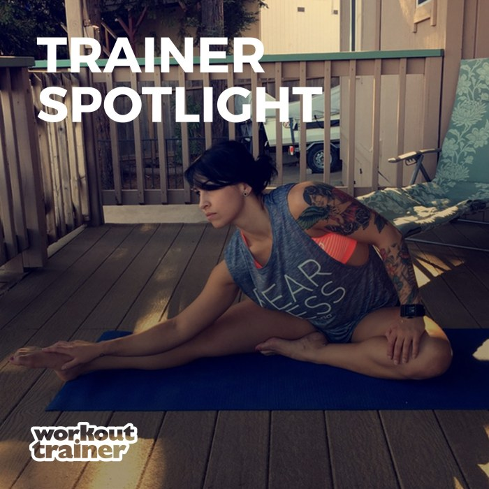 Skimble's Workout Trainer: Trainer Spotlight: Tina Filippi