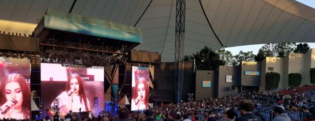 Team Skimble at the Charli XCX & Kygo concert at Google I/O 2016 #io16