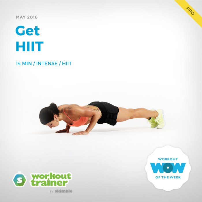 Skimble's Pro Workout of the Week: Get HIIT
