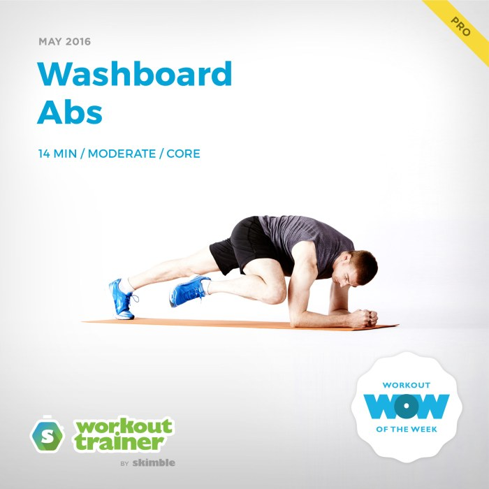 Skimble's Pro Workout of the Week: Washboard Abs