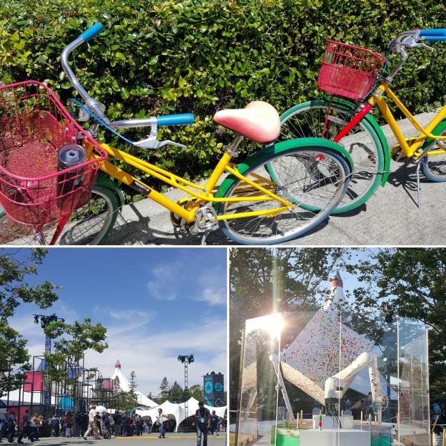 Team Skimble bikes to Google I/O 2016 - Shoreline Amphitheatre, Mountain View, CA