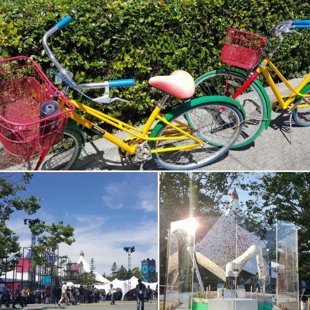 Team Skimble bikes to Google I/O 2016 - Shoreline Amphitheatre, Mountain View, CA