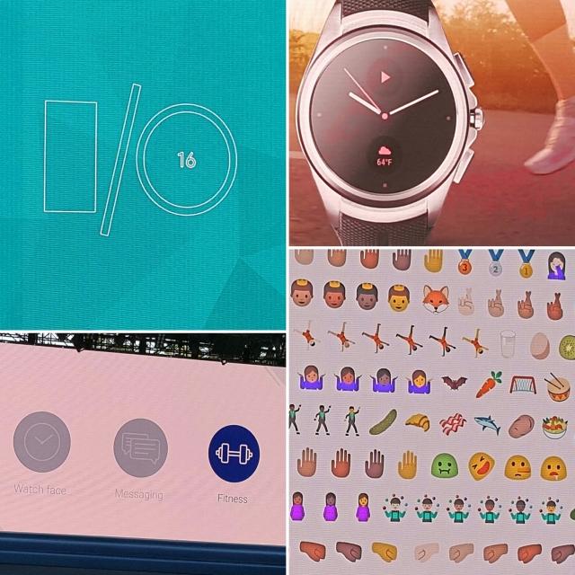 Team Skimble at the Google I/O 2016 keynote - #io16
