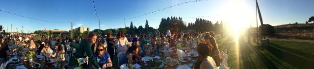 Team Skimble at the Women Techmakers dinner at Google I/O 2016 - #io16