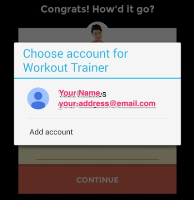 Skimble Workout Trainer - Sync with Google Fit