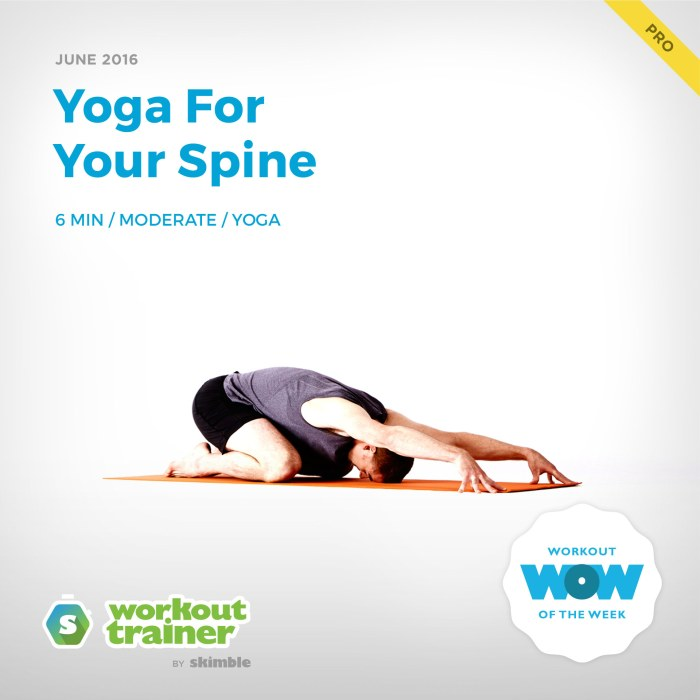 Skimble's Pro Workout of the Week: Yoga For Your Spine