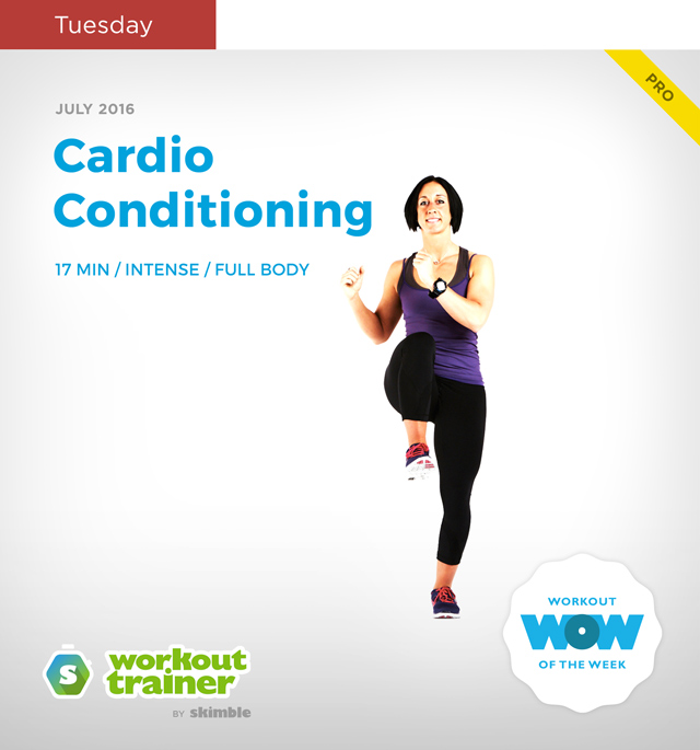 Workout Trainer by Skimble: Mini Series: Kick-Off Mania: Cardio Conditioning