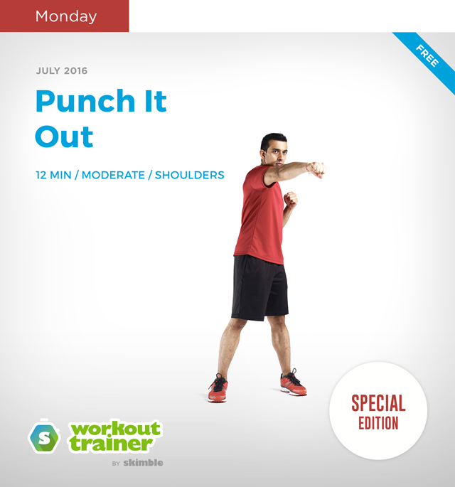 Workout Trainer by Skimble: Mini Series: Kick-Off Mania: Punch It Out