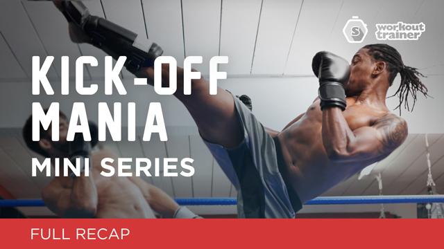 Workout Trainer by Skimble: Mini Series: Kick-Off Mania