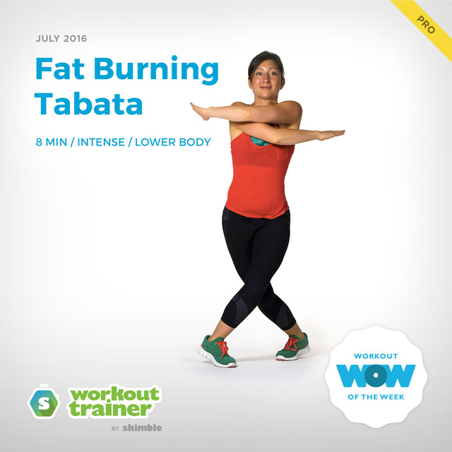 Workout Trainer by Skimble: Pro Workout of the Week: Fat Burning Tabata