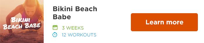 Workout Trainer by Skimble: Program Spotlight: Bikini Beach Babe