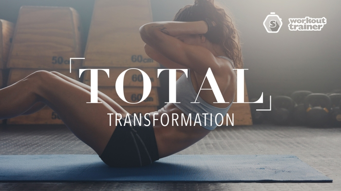 Workout Trainer by Skimble: Program Spotlight: Total Transformation