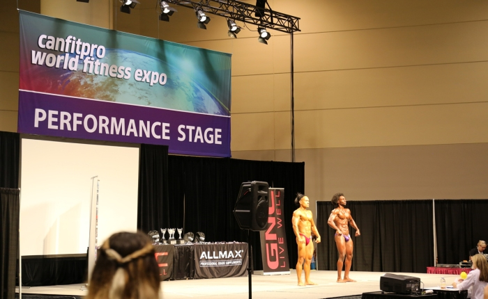 Team Skimble at CanFitPro - World Fitness Expo 2016 - Bodybuilding competition