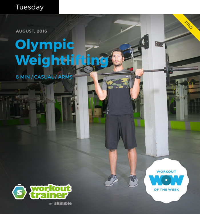 Workout Trainer by Skimble: Olympic Gold Series: Olympic Weightlifting