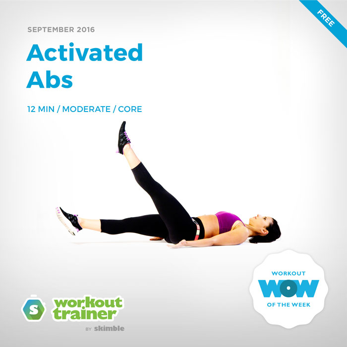 Workout Trainer by Skimble: Free Workout of the Week: Activated Abs