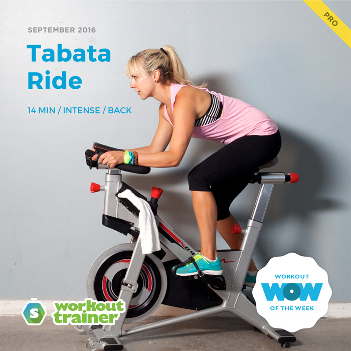 Workout Trainer by Skimble: Free Workout of the Week: Tabata Ride