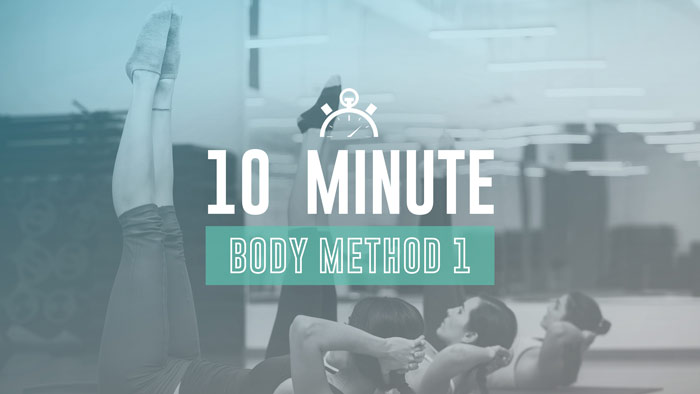Workout Trainer by Skimble: Program Spotlight: 10 Min Body Method