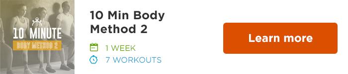 Workout Trainer by Skimble: Program Spotlight: 10 Min Body Method 2